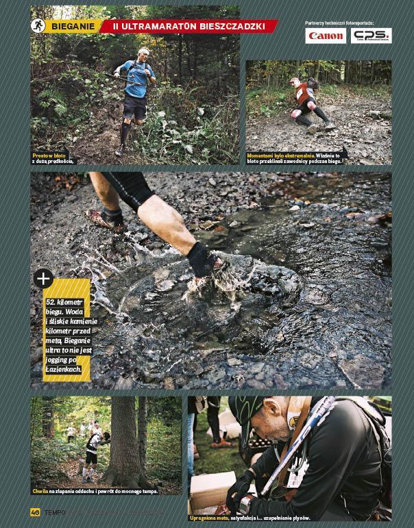 UltraMarton Bieszczadzki w Magazynie Przeglądu Sportowego TEMPO (29.10.2014)