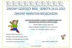 Zimowy Dziecięcy Bieg – sobota 24.01.2015