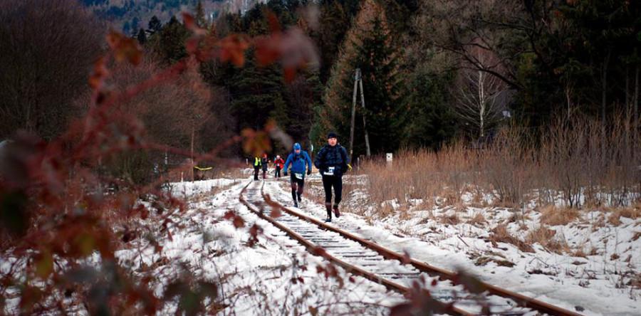 W tym maratonie każdy biegacz dostał w pakiecie dwie wywrotki.