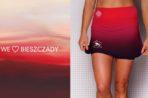 Spódniczki biegowe w bieszczadzkich kolorach