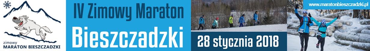 IV Zimowy Maraton Bieszczadzki, 28 stycznia 2018, Cisna