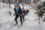 V Zimowy Maraton Bieszczadzki śnieżny, trudny, piękny.