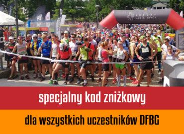 Specjalny kod zniżkowy dla wszystkich uczestników DFBG!