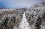 Zimowe bieganie w Bieszczadach – VI edycja Zimowego Maratonu Bieszczadzkiego za nami