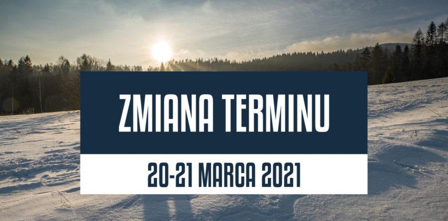 Zmiana terminu Zimowego Maratonu Bieszczadzkiego