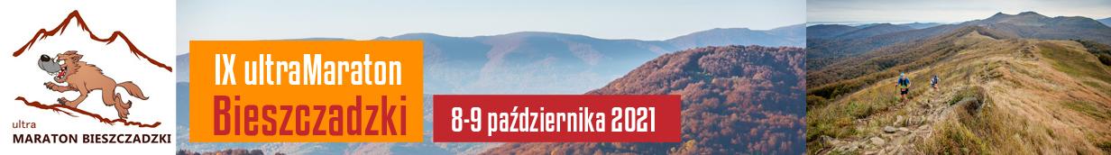 IX ULTRAMARATON BIESZCZADZKI, 8-9 PAŹDZIERNIKA 2021, CISNA